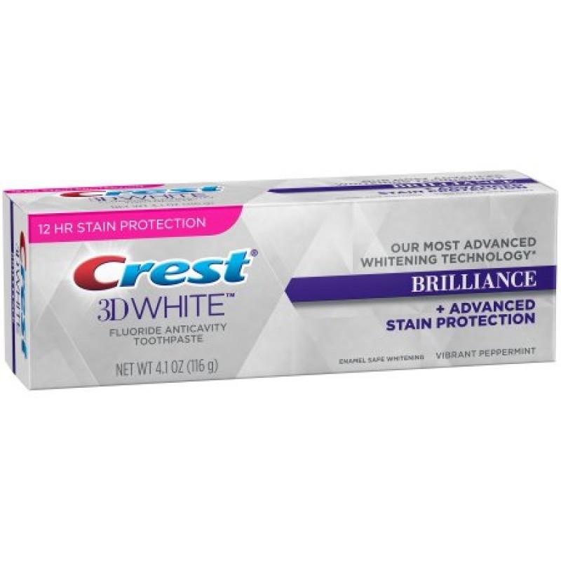 Kem đánh răng trắng răng Crest 3D White Brilliance 116g