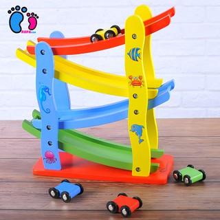 [Freeship đơn 250k] Bộ đồ chơi cầu trượt 4 tầng cho bé chơi, đồ chơi luyện tay mắt cho bé