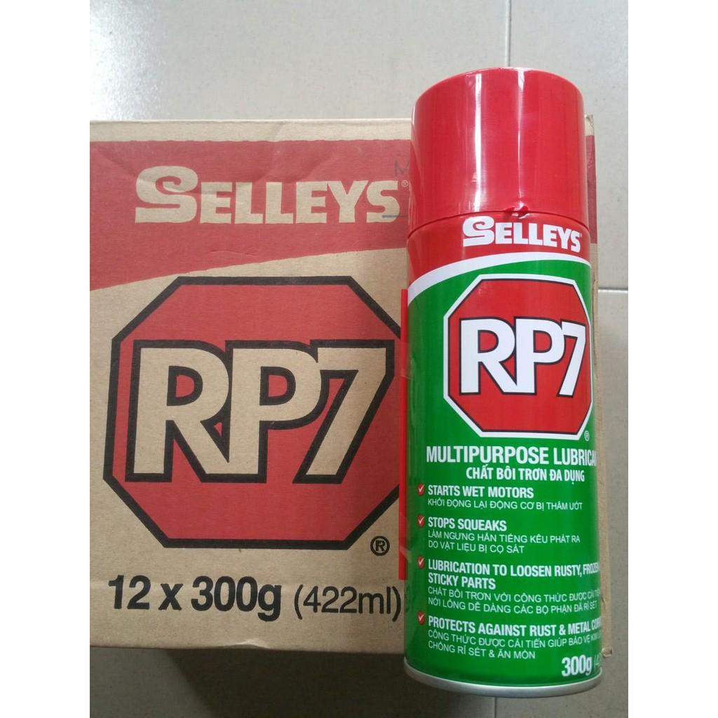Chai xịt RP7 - Dung dịch chống rỉ sét, bôi trơn Selleys RP7 (300g ...
