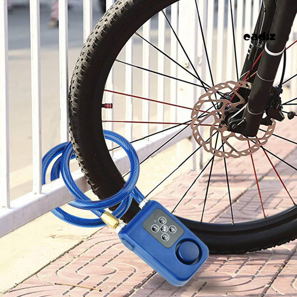 Khóa mật khẩu thông minh 1 kết nối bluetooth chống trộm cho xe đạp