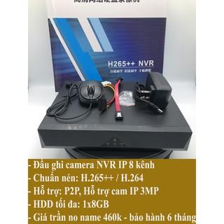 Đầu ghi camera IP NVR 9 kênh ( XẢ KHO THANH LÝ)