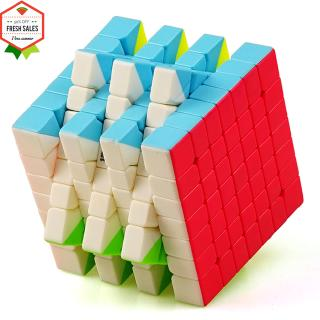 7X7 Colorful Magic Cube Brain Teaser Adult Releasing Pressure Puzzle Speed Cube Toy Gift
