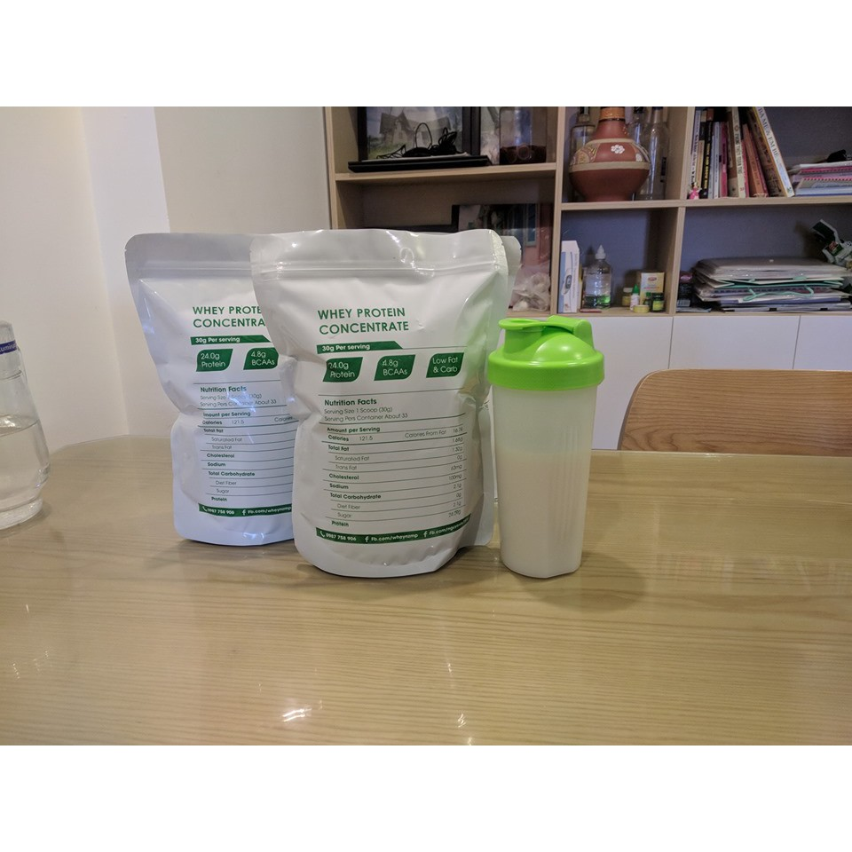 2Kg Whey Protein Concentrate NZMP 80% Protein tặng 1Kg Dextrose...