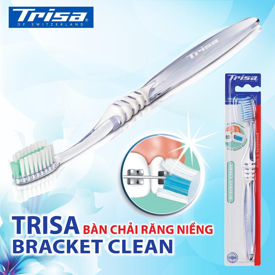 Bàn Chải Đánh Răng Cho Người Niềng Răng Trisa Bracket Clean