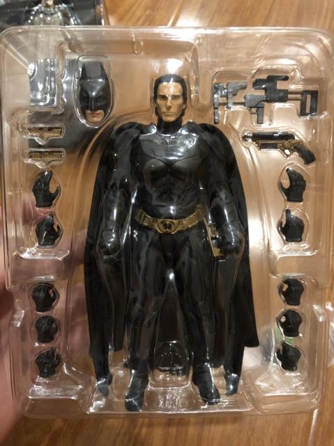 Head Bruce Wayne Bat Bale tỷ lệ 1/12 cho SHFBandai Batman