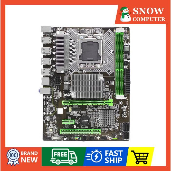 Bảng giá Main x58 Bo mạch chủ 1366 hỗ trợ ram ECC REG   Bo mạch main x58 pro sk 1366 xeon x5670, x5677 Phong Vũ