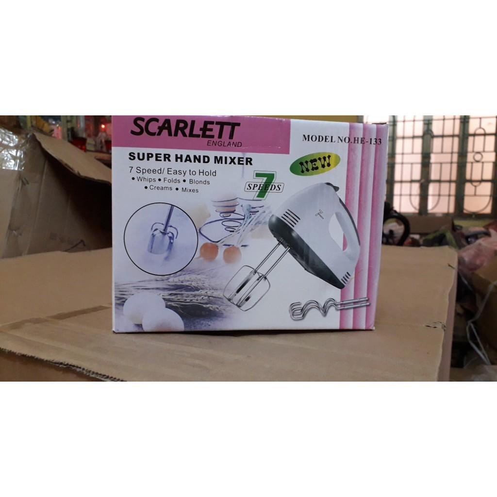 Máy Đánh Trứng Cầm Tay Scarlett 7 Tốc Độ Siêu Bền - Máy xay sinh tố Thương  hiệu No Brand