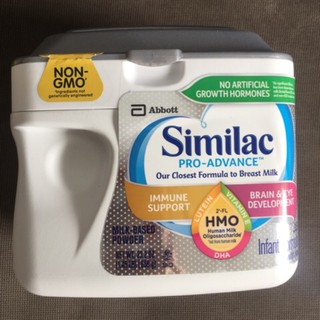 Sữa Similac Pro Advance Non Gmo 658g nhập usa
