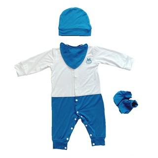 [Mã LILGRO20 giảm 15% đơn 99K] Bộ quần áo sơ sinh body vải smoothy từ 0-6 tháng LITTLE LOVE
