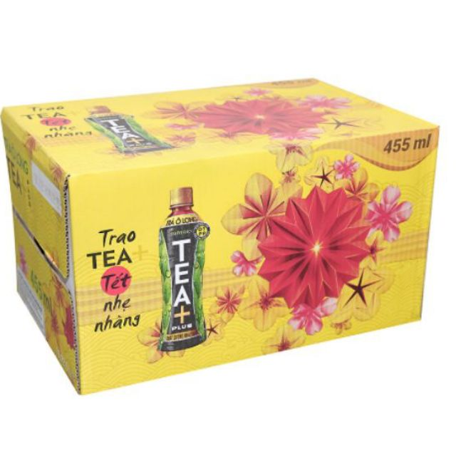Trà Ô long Tea+ Plus Suntory chai 455ml