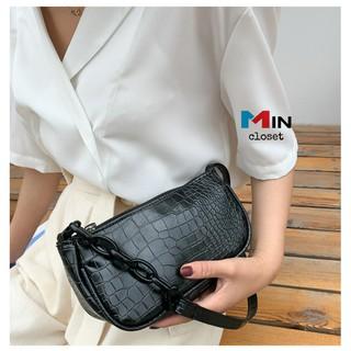 Túi đeo chéo nữ 💖 𝑭𝑹𝑬𝑬𝑺𝑯𝑰𝑷 💖 Túi xách nữ - Phối xích cao cấp TD06