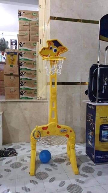 Bộ bóng rổ hươu cao cổ
