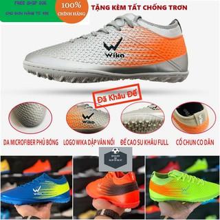 [Xả Kho 3 Ngày]Giày bóng đá,giày đá banh WIKA FLASH đế TF sân cỏ nhân tạo (CHÍNH HÃNG) tặng kèm tất chống trơn