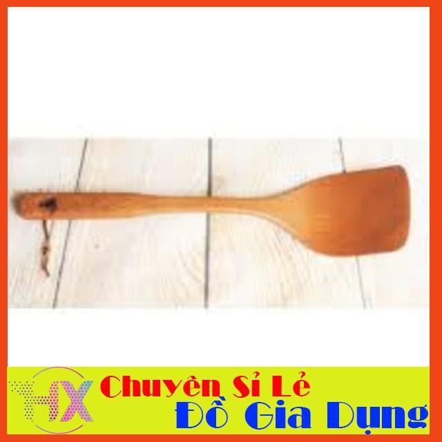 [SHIP THẦN TỐC]  Xẻng gỗ dài đảo thức ăn   Toàn Quốc
