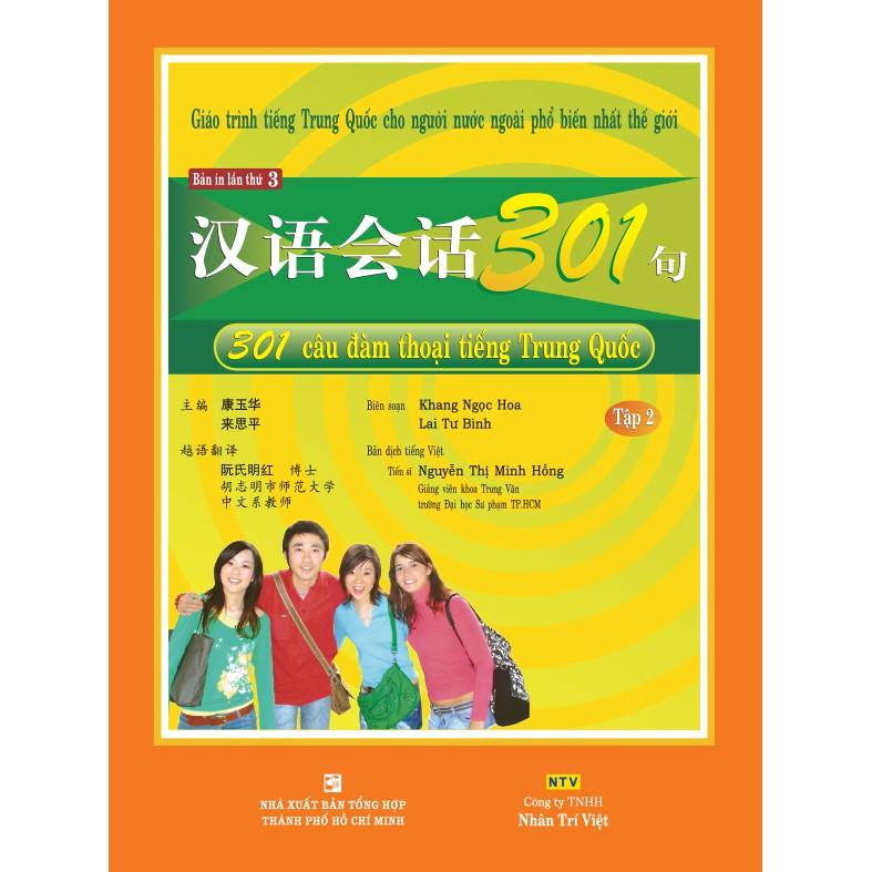 301 câu đàm thoại tiếng Trung Quốc: Tập 2 (kèm CD) - 3381298 , 975633085 , 322_975633085 , 198000 , 301-cau-dam-thoai-tieng-Trung-Quoc-Tap-2-kem-CD-322_975633085 , shopee.vn , 301 câu đàm thoại tiếng Trung Quốc: Tập 2 (kèm CD)