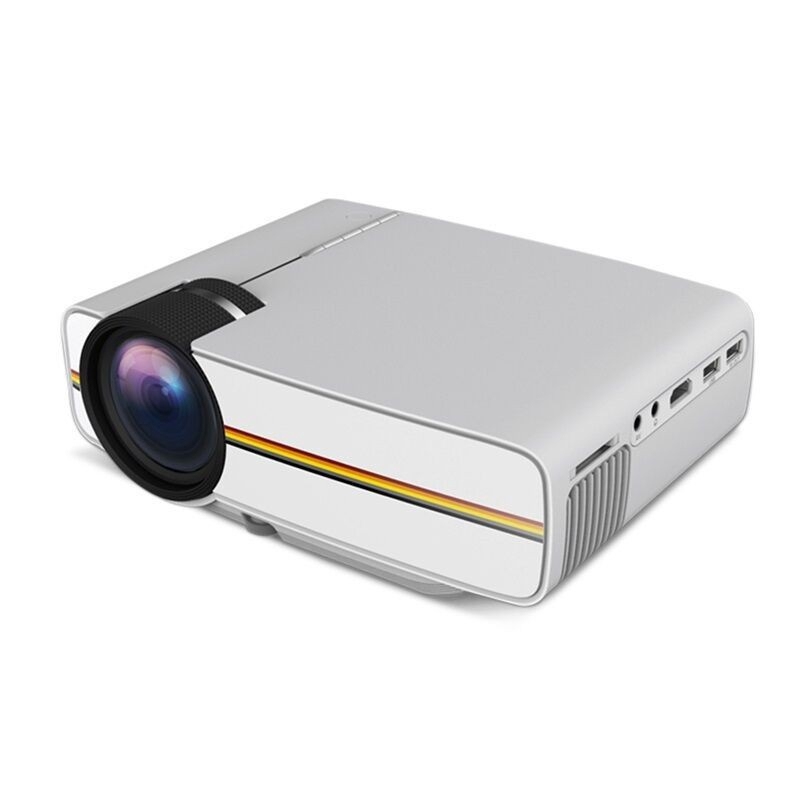 1200 Lm LED Projector Support 1080P Portable Pico Projector for Home Theater