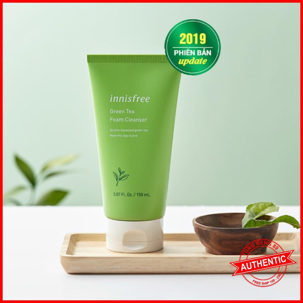 [New 2019] Sữa Rửa Mặt Trà Xanh Innisfree Green Tea Foam Cleanser 150ml
