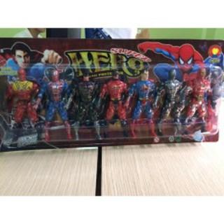 đồ chơi siêu nhân 7 anh hùng