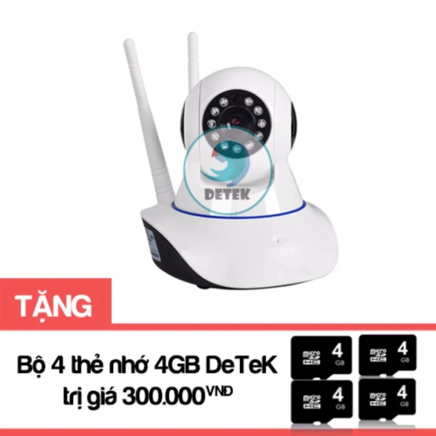 Bộ Camera HD Wireless IP Yoosee X8100 xoay 360 độ Tặng Bộ 4 thẻ nhớ - 2510246 , 670286663 , 322_670286663 , 749000 , Bo-Camera-HD-Wireless-IP-Yoosee-X8100-xoay-360-do-Tang-Bo-4-the-nho-322_670286663 , shopee.vn , Bộ Camera HD Wireless IP Yoosee X8100 xoay 360 độ Tặng Bộ 4 thẻ nhớ