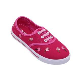 Giày vải bé gái Bita's GVBG.70 (Hồng + Đen)