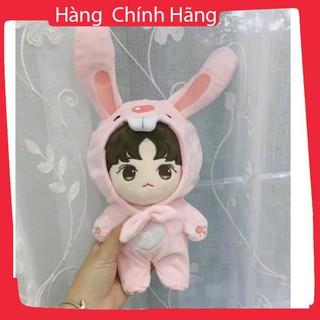 [Trợ giá] Outfit thỏ cho doll 20cm_Hàng tốt