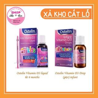 Vitamin D3 Ostelin cho trẻ sơ sinh và trẻ nhỏ [Nội Địa Úc]