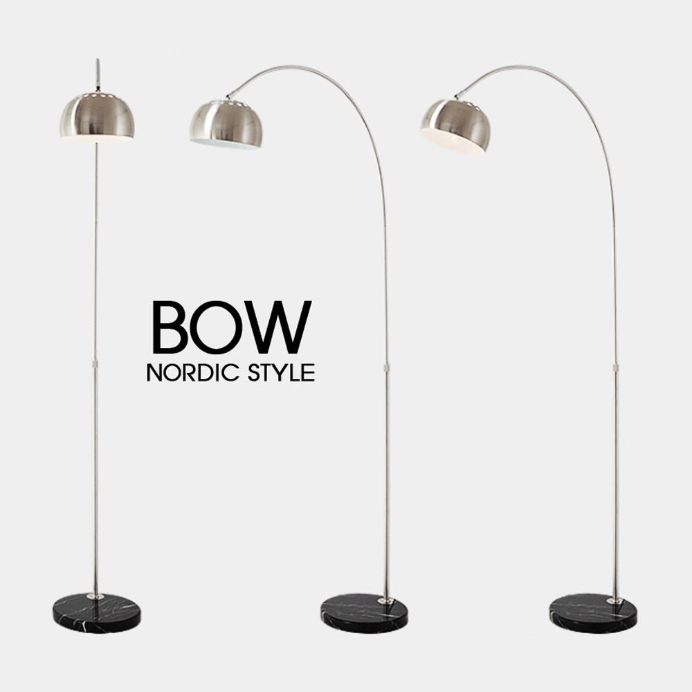 Đèn Cây Phòng Khách BOW (Chân Đá Cao Cấp)