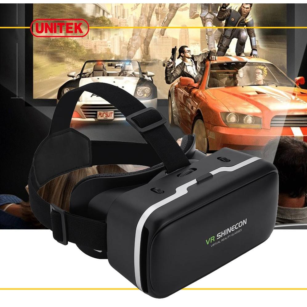 Kính thực tế ảo VR BOX Shinecon (Đen)