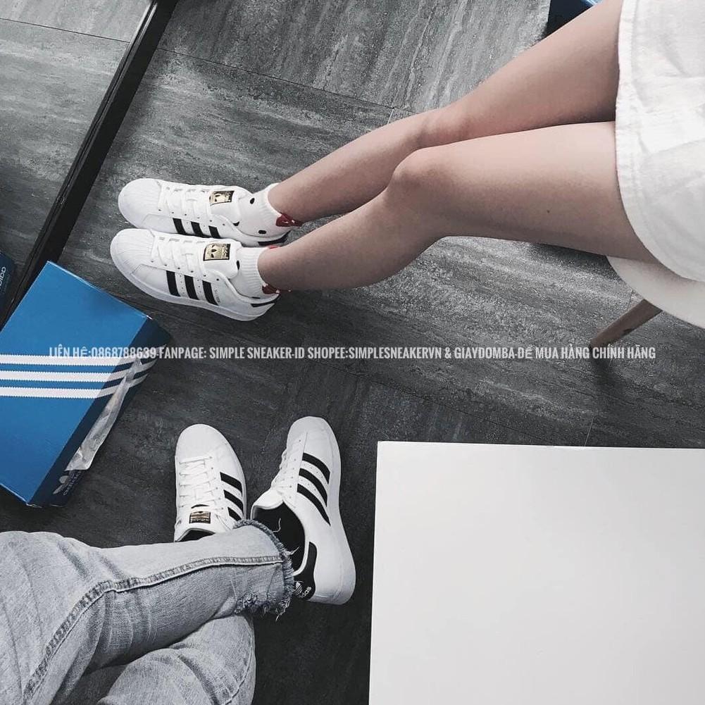 Giày Adidas Superstar FREESHIP Giảm 50K Khi Nhập Mã [SUPERSTAR] Giày Adidas Nam Nữ Superstar Chuẩn Auth