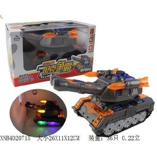 Bộ đồ chơi xe tăng dùng pin YC985