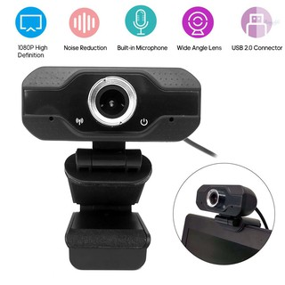 Ready in stock 1080P Webcam USB Camera Video High Definition Web Cam with Mic for Online Studying Meeting Calling