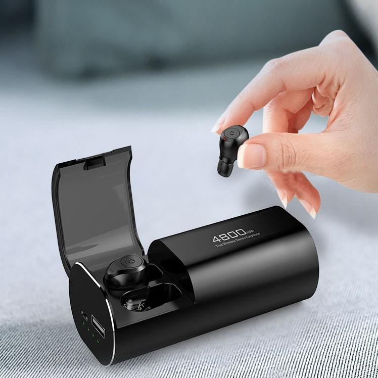 Tai Nghe Bluetooth S11 TWS Bản Quốc Tế True Wireless Không Dây Kiêm Sạc Dự Phòng 4800mAh - Chống Nước IPX7 – Chống Ồn