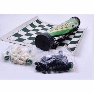 Bộ cờ vua tiêu chuẩn thi đấu quốc tế có ống đựng tiện lợi