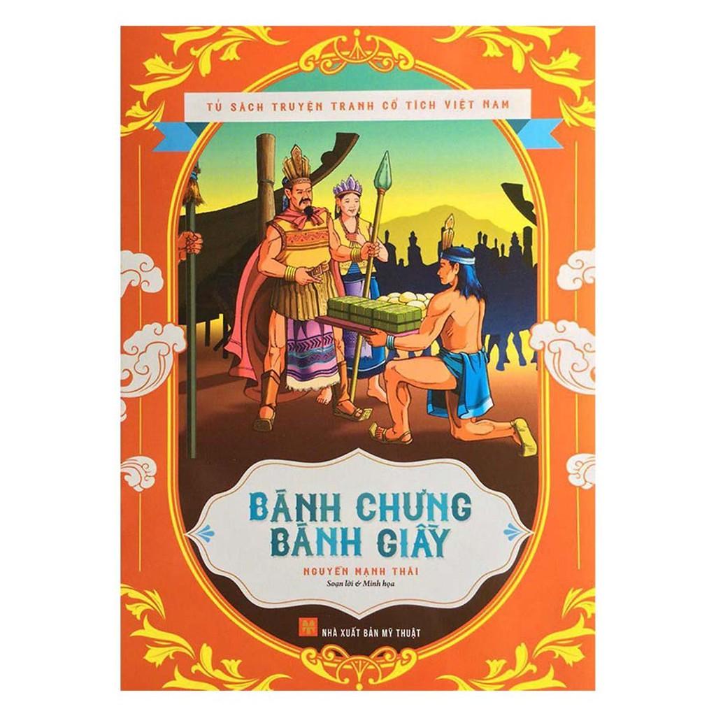 Sách - Tủ sách truyện tranh cổ tích Việt Nam - Bánh chưng bánh giầy