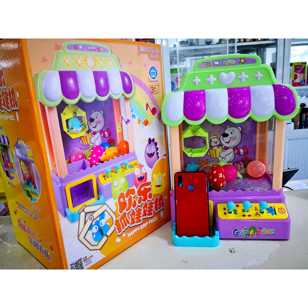 Máy Gắp Thú Nhồi Bông Mini - JOY CLAW MACHINE - MSN1831109