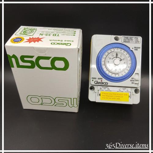 Timer TB35N - Camsco - Timer TG16A