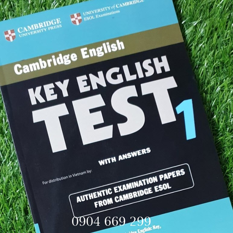 Sách Cambridge Key English Test (KET) 1