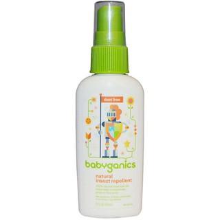 Tinh dầu xịt chống muỗi Babyganics 59ml M209 thumbnail