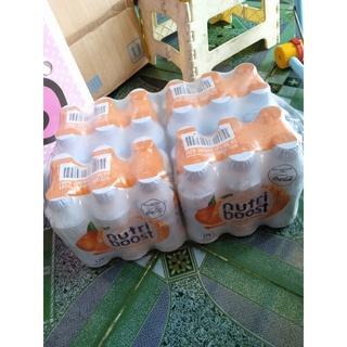 ShopDiepN- Lốc 24 Chai Sữa Trái Cây Nutriboost Hương Cam Mật Ong 297ml/Chai
