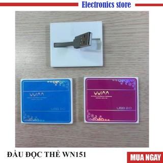 Đầu đọc thẻ nhớ máy ảnh đa năng WN151 Micro SD, SD, MMC, Mini SD, Pro Duo...Bh 3 tháng lỗi 1ổi 1 trong 7 ngày