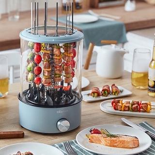 Lò nướng điện BBQ gia dụng, máy nướng thịt BBQ xoay tự động mini hãng BEAR DKL-S11A1 thumbnail