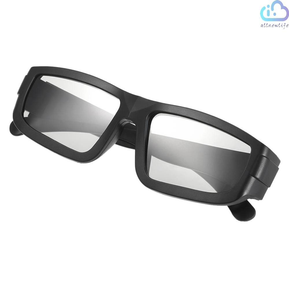A&L Passive 3D Glasses Circular Polarized Lenses for Polarized TV Real D 3D Cinemas for Sony Panasonic