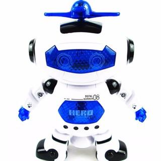 Robot thông minh nhảy múa theo nhạc ROBO (Xanh)[Tmarkvn]