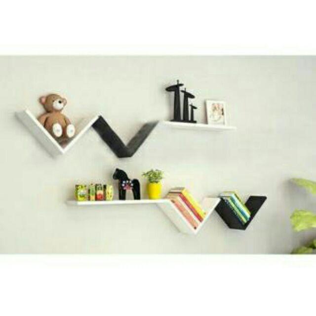 Kệ trang trí chữ v ( set 1 chữ v 25cm )