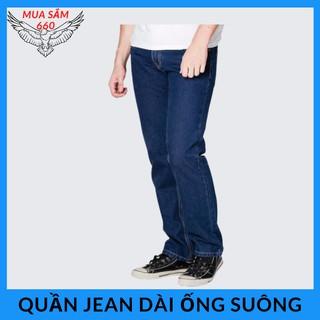 Sale sốc quần jean dài ống suông trung niên size 27 đến 34 phom quần bò cứng cáp-MS01