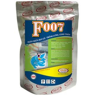 Khoáng chất phòng và đặc trị bệnh cơ trắng lưng trên tôm thẻ chân trắng và tôm sú, tăng cường sức đề kháng cho tôm F007