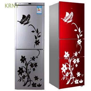 KRNY Multi-color High Quality Kitchen Living Room Home Decoration Butterfly Pattern Creative Refrigerator Sticker