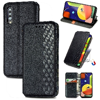 Luxury Leather Wallet Magnetic Flip case For Samsung Galaxy A70 A70S A50 A50S Samsung A30 A30S A20 PU Leather Card Slot Phone Case With Stand Holder