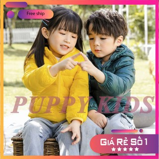 Áo khoác trẻ em ⚡XUẤT DƯ⚡ Áo phao cho bé - Lông vũ hàng chuẩn vải PVC chống gió và nước- cam kết áo loại 1