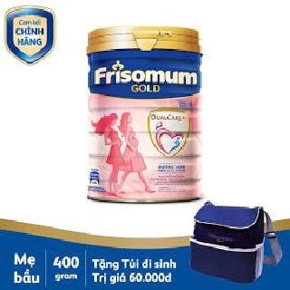 Sữa bầu Frisomum Gold hương vani cam 400g thumbnail